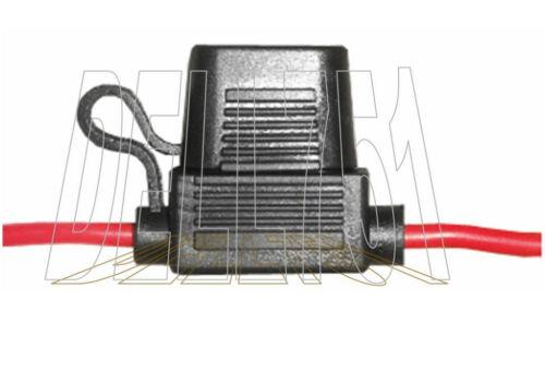 Water-proof in-line STANDARD blade fuse holder