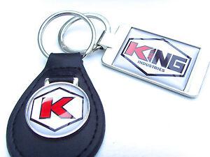 JAMES-BOND-007-KING-INDUSTRIES-KEY-FOB-KEYFOB-KEYRING-GIFT