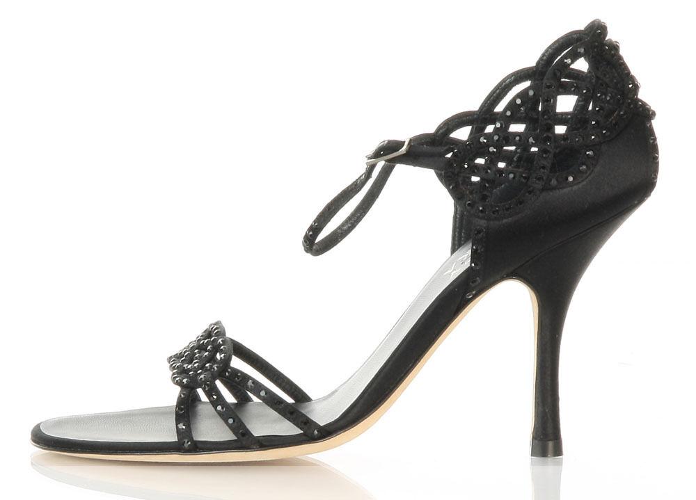 il miglior servizio post-vendita Authentic BADGLEY MISCHKA nero Cutout Heels, Dimensione 36.5 36.5 36.5 6 scarpe  negozio di sconto