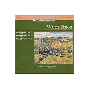 Walter Piston String Quartet No. 1,2 & 3 The Portland String Quartet  RAR!