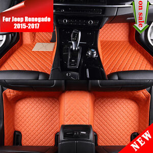 Image Is Loading Sp92 8 Colors Leather For Jeep Renegade 2017