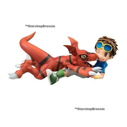 Digimon - Matsuda Takato & Guilmon 1 10 PVC Figurine G. E. M.Megahouse