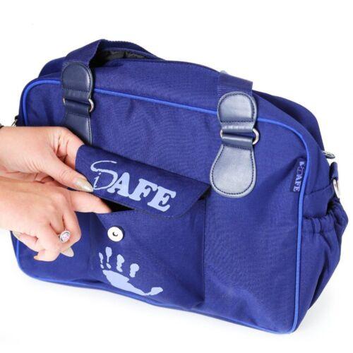 Purple//Purple Plum iSafe Changing Bag Luxury Quality
