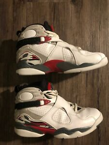 the best attitude 2e703 66108 Image is loading 2012-Nike-Air-Jordan-8-Retro-White-Black-