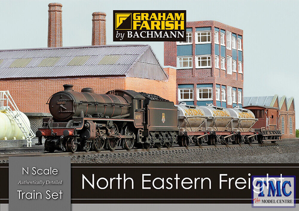370-090 Graham Farish N Gauge North Eastern Freight Train Set