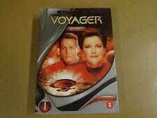 5-DISC DVD BOX / STAR TREK - VOYAGER - SEASON 1