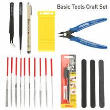 Basic Tools Craft Set Car Model Building Repair Fix Kit for Gundam Modeler Tool