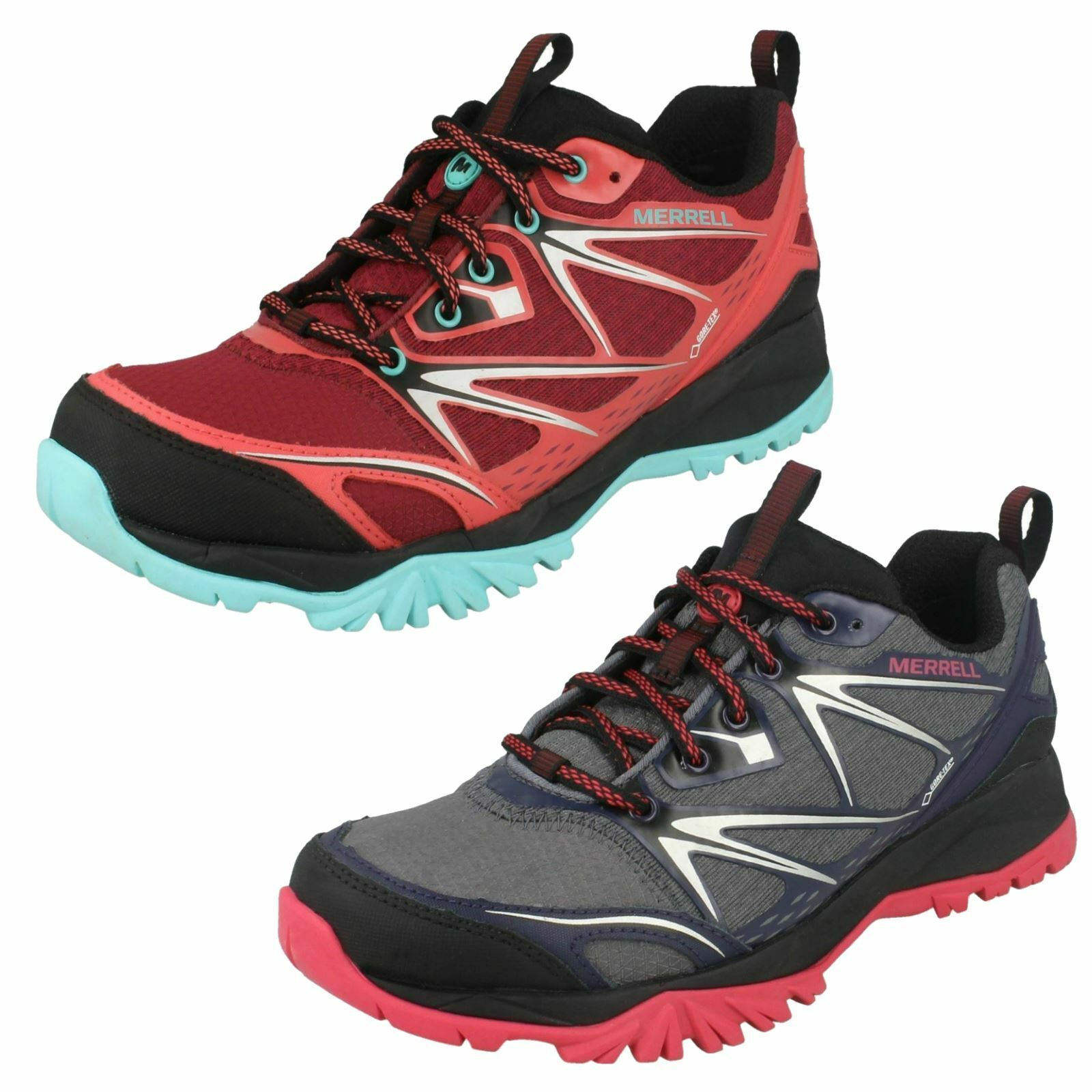 Ladies Merrell Casual Trainers Capra Bolt Gore-Tex J35454