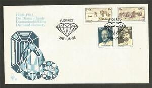 SOUTH-WEST-AFRICA-1983-Diamond-Findings-in-Luderitz-F-D-C