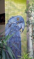 """Bambustürvorhang Bambusvorhang Türvorhang """"Papagei"""" ca. 90x200cm"""
