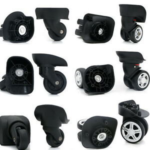 2437334f4ee2 Details about 1 Pair Replacement Luggage Suitcase Wheels Swivel Universal  Wheel for Any Bags