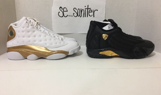 a752b784bae427 Nike Air Jordan 13 14 DMP Finals Defining Moments Pack Retro 897563-900 Size