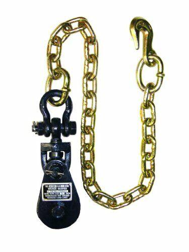 Pasteca De 2 toneladas con cadena y 3  Polea Rueda parte   6I-2TSW30