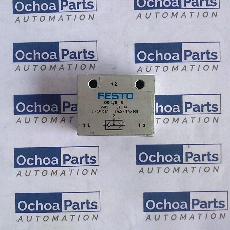 FESTO 6681 OR GATE OS-1 8-B  1-10 BAR G1 8