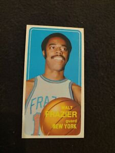 1970- 71 Topps Walt Frazier basketball card #120 New York Knicks VG
