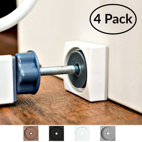 4 Pack - Made in USA For Dog /& P... Wall Nanny Mini Baby Gate Wall Protector