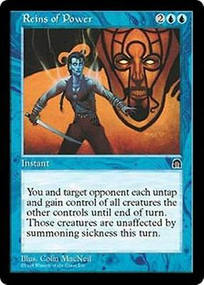 REINS OF POWER Stronghold MTG Blue Instant RARE