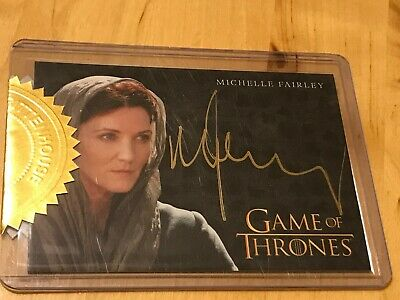 Game Of Thrones Season 3 Gallery Chase Card  PC4 Catelyn Stark