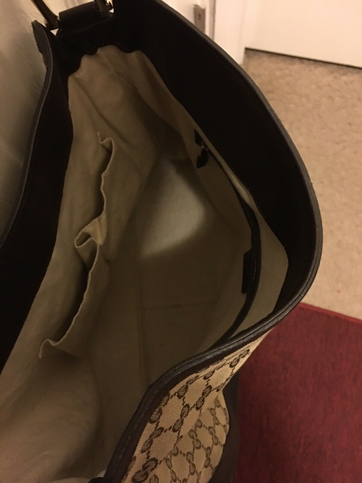 WOMENS GUCCI DIANA BAG/PURSE WITH BAMBOO HANDLE, … - image 6