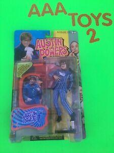 "McFarlane Toys Austin Powers CARNABY STREET AUSTIN ""Shag Pad Darling"" Figure NEW"