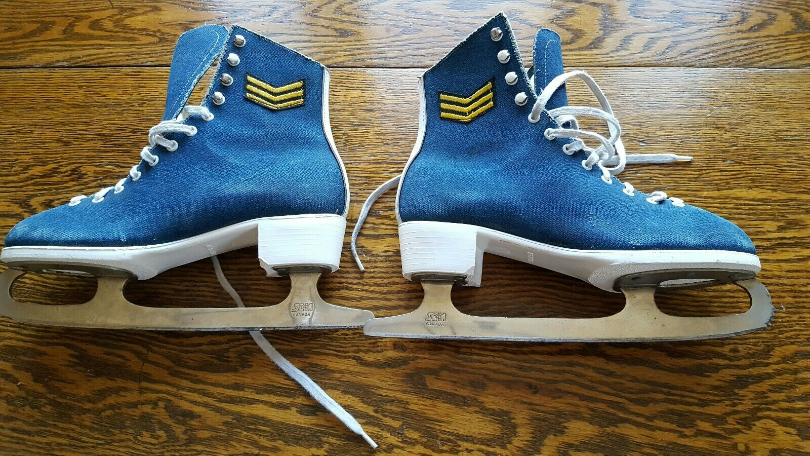 Vintage bluee Trim  Ice S s 7 size woman's retro winter decor military  fast delivery and free shipping on all orders