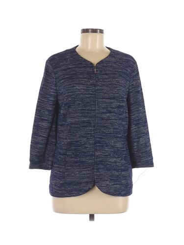 Coldwater Creek Women Blue Jacket 8