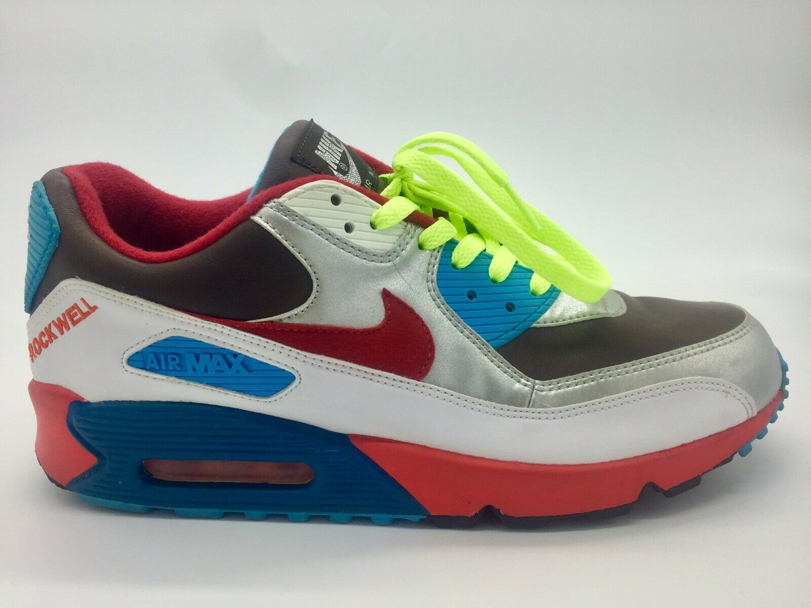 Nike Air Max 90 Nike ID Vintage Rare ROCKWELL Sz 10 Men's 314266-991 2005 shoes