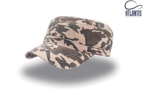 Cappellino UNIFORM berretto caps SOFT AIR mimetico kaki ATLANTIS cappello HATS