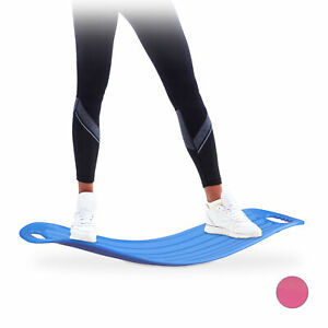 Planche-d-equilibre-Twist-Board-Balance-Board-entrainement-fitness-muscles-bleu