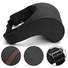 2x Travel Car Auto Seat Head Neck Rest Leather Cushion Pad HeadRest Bone Pillow