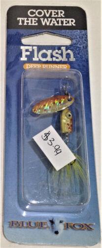 Flash Choose Model Blue Fox Deep Runner Spinners