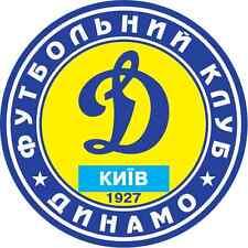 "FC Dynamo Kyiv Ukraine Soccer Football Bumper Sticker Decal 5"" x 5"""