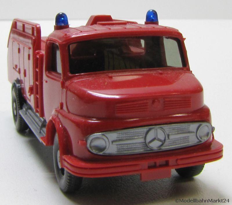 Wiking 606 1 MERCEDES BENZ L 1413 aérodrome-pompiers échelle 1 87 h0