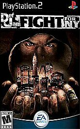 Def Jam: Fight for NY (PlayStation 2, 2004) ACCEPTABLE