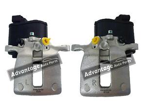 Para-Volvo-S60-80-V60-70-XC60-70-Detras-Derecho-amp-Izquierda-Pinzas-De-Freno-Electrico-Par