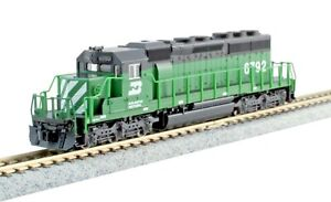Kato 176-4960, N scale, EMD SD40-Mid Diesel Locomotive, 6792 Burlington Northern