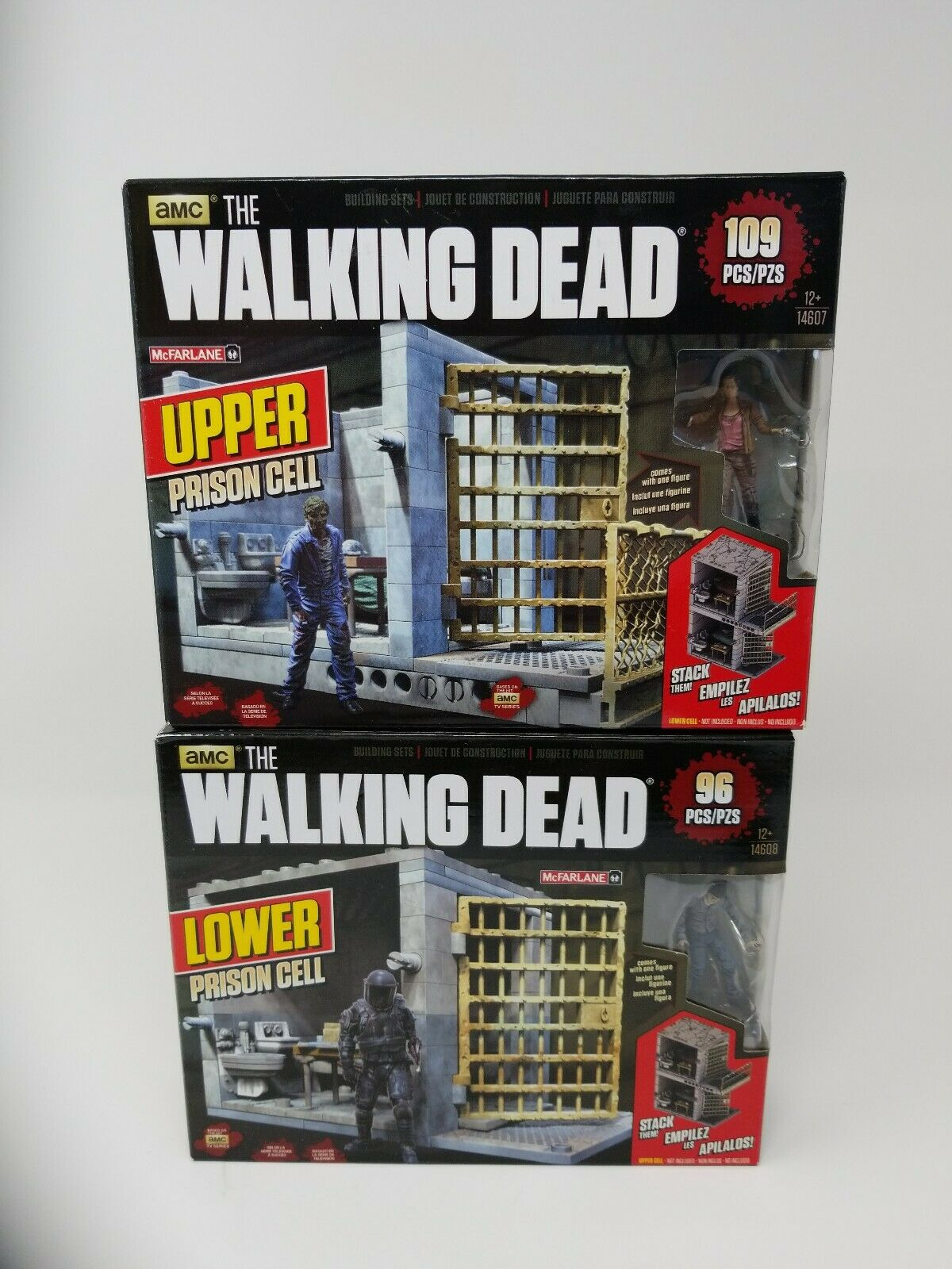 The Walking dead prison, upper and lower combo.