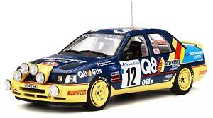 Otto Mobile 732 Ford Sierra 4 X Voiture de rallye Monte Carlo 1991 Delecour 1:18