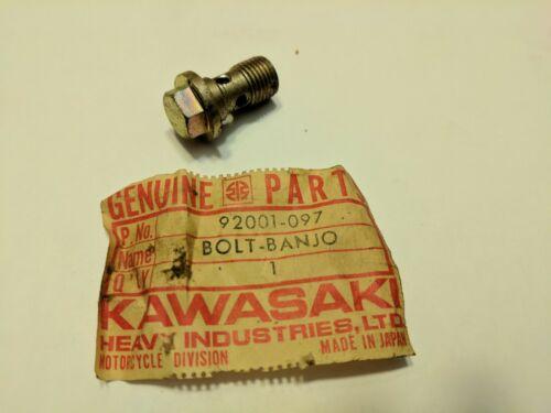 Kawasaki NOS Bolt BanJo F5,9-92001-097