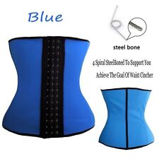 308a6e47064 item 3 Womens Latex Waist Cincher Waist Trainer Trimmer Long Torso with 3  Hook Rows FF -Womens Latex Waist Cincher Waist Trainer Trimmer Long Torso  with 3 ...