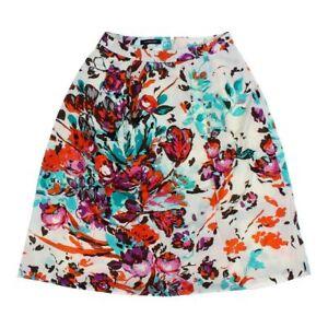 0ac0f32b Lands' End Women's Skirt, size 0, light blue, orange, purple, white ...