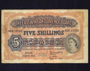East-Africa-5-Shillings-1954-P-33