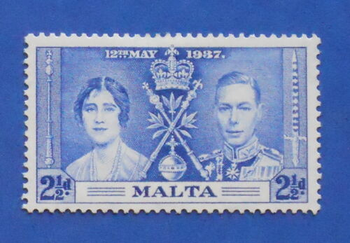 1937 MALTA 2 1/2d SCOTT# 190 S.G.# 216 UNUSED CS17330