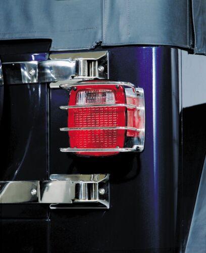 Rückleuchten-Schutzgitter taillight protection grid stainless steel Heckleuchten