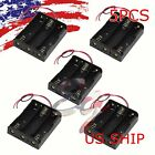 5pcs Plastic Battery Holder Storage Box Case for 3x18650 Battery Holder US STOCK