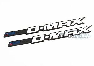 "2 New Chrome /& BLACK Duramax Diesel /""DMAX LBZ/"" Allison EFILIVE 2500 3500 Badges"