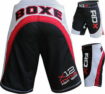 RDX BOXE Fight  MMA Grappling Short Boxing Muay Thai Mens Gym UFC Cage AU