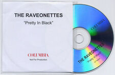 THE RAVEONETTES Pretty In Black UK 13-trk promo test CD