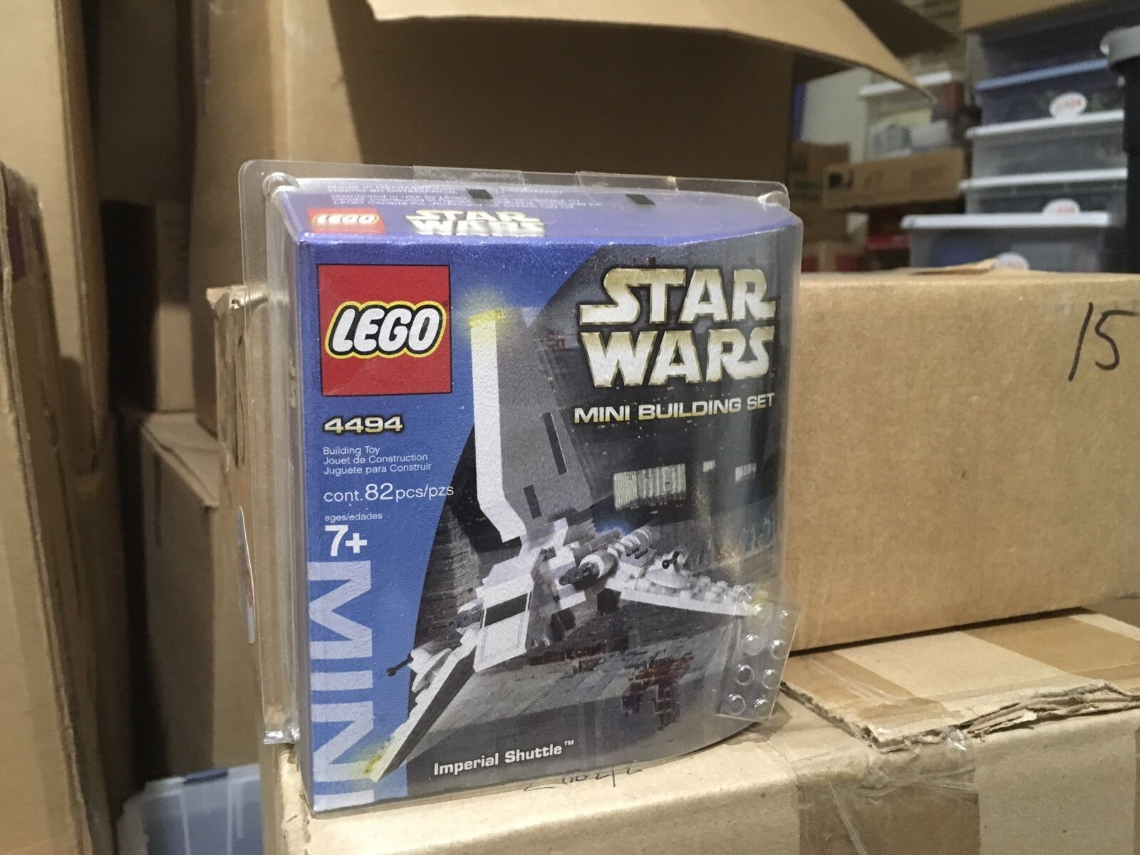 LEGO  4494 : Star Wars Mini Building Set - Imperial Shuttle (82 pcs) NEW