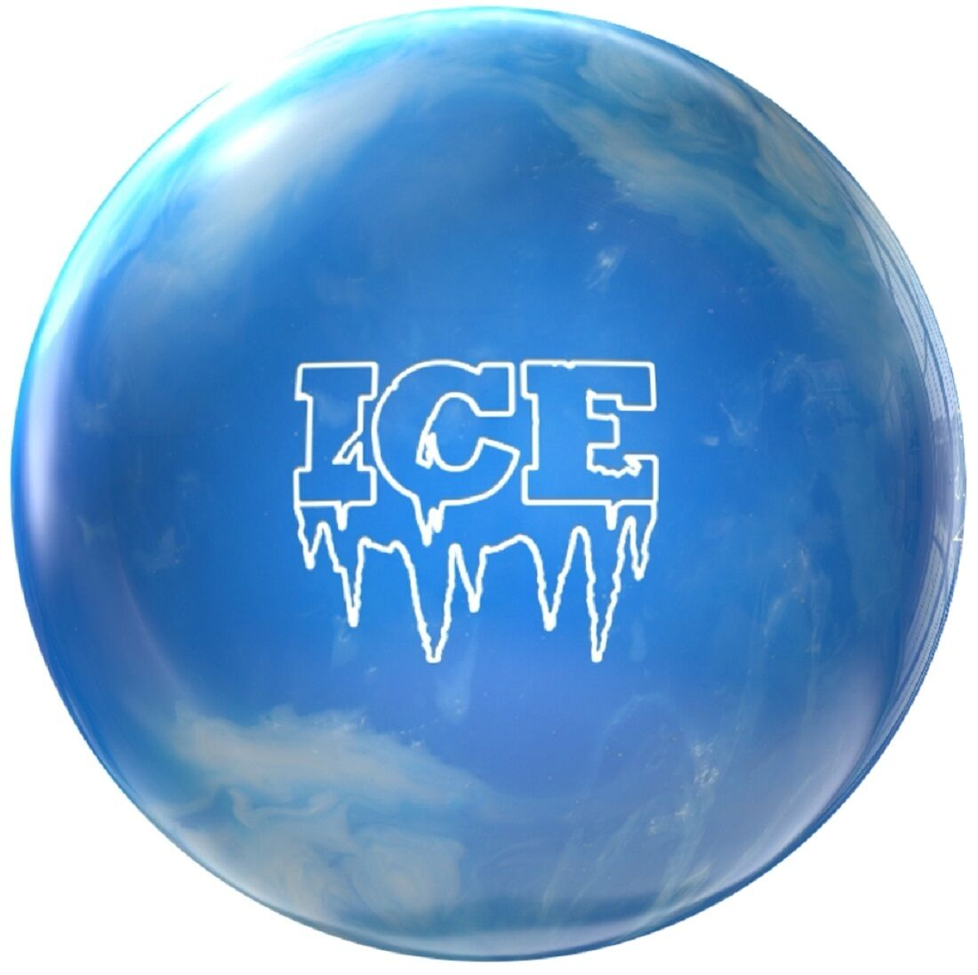 12lb Storm  Ice Polyester Bowling Ball Ice bluee Spare Ball Ideal Dry Lane Ball